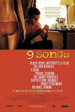 9 Songs Locandina